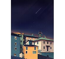 Castles at Night Photographic Print