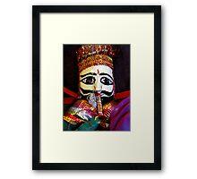 Nepalese Doll Framed Print