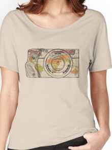 Travel The World With A Camera Women's Relaxed Fit T-Shirt