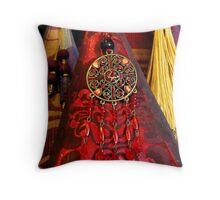 Luxurious Elegance Throw Pillow