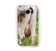 grazing cows on the mountain Samsung Galaxy Case/Skin