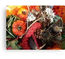Fall still-life Canvas Print