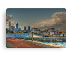 THE OLD BREWERY JETTY-173 Mounts Bay Road – Crawley Canvas Print