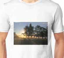 Together We Stand Limbs Outstretched Facing the Sunset Of Another Glorious Day Unisex T-Shirt