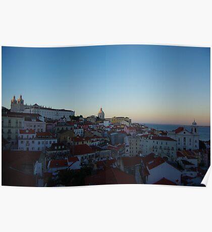 Lisbon - Baixa Poster