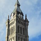 Tower, Erie County Hall in Buffalo by Ray Vaughan