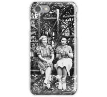 Two Ladies In The Park, Circa 1930s iPhone Case/Skin