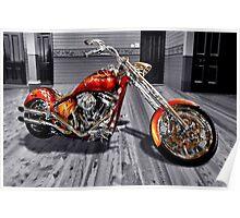 Harley Magic Poster