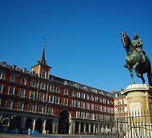 Plaza Mayor - Madrid by Susilawati