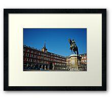 Plaza Mayor - Madrid Framed Print