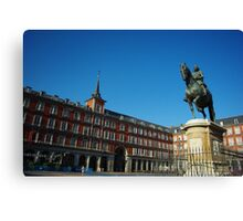 Plaza Mayor - Madrid Canvas Print