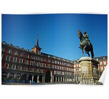 Plaza Mayor - Madrid Poster