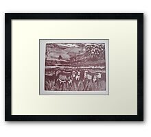 Country Life 2 Framed Print
