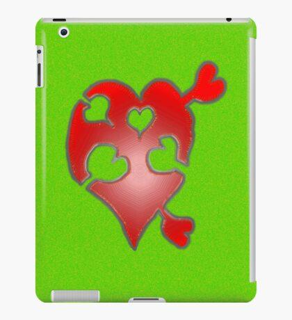 A LOVE puzzle piece iPad Case/Skin