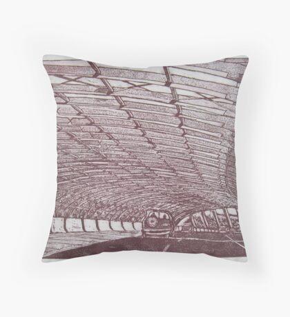 Sound Tube, Flemington Throw Pillow