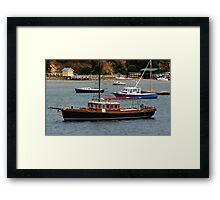 Nautical Miles Framed Print