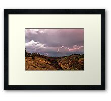 Sky Runner Framed Print