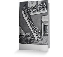 Grand Entrance Greeting Card