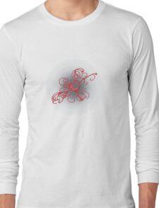filigree heart Long Sleeve T-Shirt