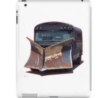 da bomb apocalypse auto bus plow car iPad Case/Skin