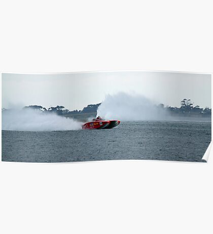 Rooster Tails Poster