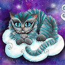 Galaxy Cheshire Cat by Victoria Thorpe