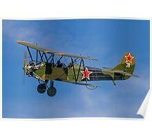 Polikarpov PO-2 Mule G-BSSY white 28 Poster