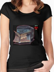 apocalypse auto plow bus Women's Fitted Scoop T-Shirt