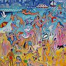 Beach fun by Karin Zeller