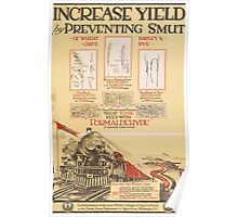 United States Department of Agriculture Poster 0107 Increase Yield by Preventing Smut Poster
