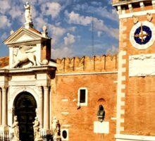 Impressions of Venice - Arsenale di Venezia Lions Sticker