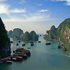 Halong Bay by Anthony and Kelly Rae
