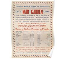 United States Department of Agriculture Poster 0014 Get a War Garden Going Poster