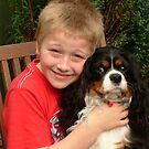 My Darling Grandson Harry with Charlie by AnnDixon