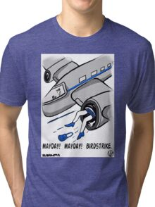 A Plane Accident. Tri-blend T-Shirt