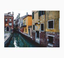 Impressions of Venice - Fabulous Distinctive Chimneys and Charming Bridges One Piece - Short Sleeve
