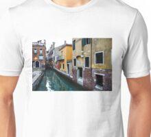 Impressions of Venice - Fabulous Distinctive Chimneys and Charming Bridges Unisex T-Shirt