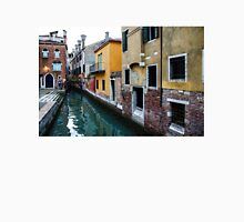 Impressions of Venice - Fabulous Distinctive Chimneys and Charming Bridges Unisex T-Shirt