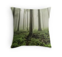 Woods Throw Pillow
