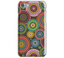 Circles Geometric multi coloured iPhone Case/Skin