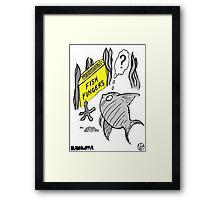 Fish Fingers ? Framed Print