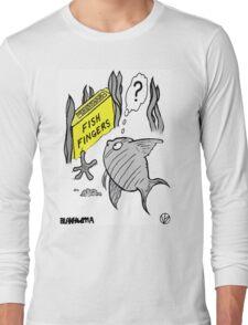 Fish Fingers ? Long Sleeve T-Shirt