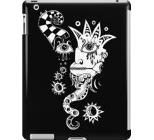 THE JESTER • SURREAL INK DRAWING  iPad Case/Skin