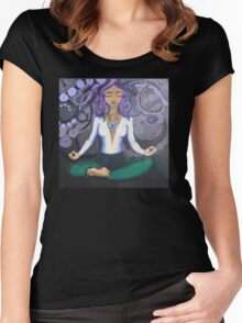 When Lilies Bloom Women's Fitted Scoop T-Shirt