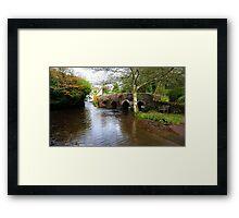 Packhorse Bridge nr Skilgate Framed Print