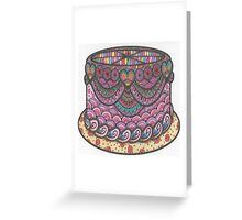 Party Cake Greeting Card
