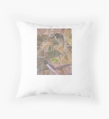 Eco art Throw Pillow
