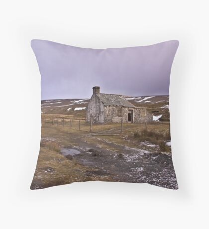 Dales Ruin Throw Pillow