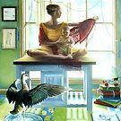 East Light, 2004, oil on canvas. by fiona vermeeren