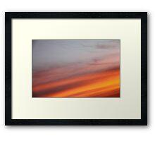 sunset strip Framed Print